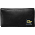 Georgia Tech Yellow Jackets Deluxe Leather Checkbook Cover