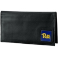 PITT Panthers Deluxe Leather Checkbook Cover