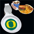 Oregon Ducks Ultimate Party Plate