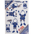 Memphis Tigers Family Decal Set Small