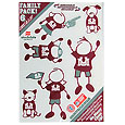 Montana Grizzlies Family Decal Set Small
