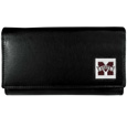 Mississippi St. Bulldogs Leather Women's Wallet