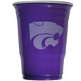 Kansas St. Wildcats Plastic Game Day Cups