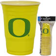 Oregon Ducks Plastic Game Day Cups