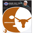 Texas Longhorns Game Face Temporary Tattoo