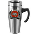 Arkansas Razorbacks Steel Travel Mug w/Handle