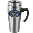 Florida Gators Steel Travel Mug w/Handle