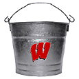 Collegiate Ice Bucket - Wisconsin Badgers