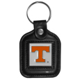 Tennessee Volunteers Square Leatherette Key Chain