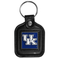 Kentucky Wildcats Square Leatherette Key Chain