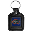 Florida Gators Square Leatherette Key Chain