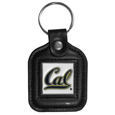 Cal Berkeley Bears Square Leatherette Key Chain