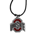 Ohio St. Buckeyes Cord Necklace