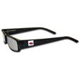 Arkansas Razorbacks Black Reading Glasses +1.25