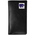 Kansas St. Wildcats Leather Tall Wallet