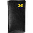 Michigan Wolverines Leather Tall Wallet