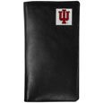 Indiana Hoosiers Leather Tall Wallet