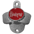 Nebraska Cornhuskers Wall Mounted Bottle Opener