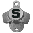 Michigan St. Spartans Wall Mounted Bottle Opener