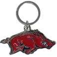 Arkansas Razorbacks Enameled Key Chain