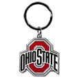 Ohio St. Buckeyes Enameled Key Chain