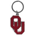 Oklahoma Sooners Enameled Key Chain