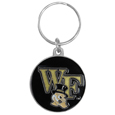 Wake Forest Demon Deacons Carved Metal Key Chain