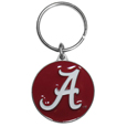 Alabama Crimson Tide Carved Metal Key Chain