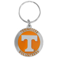 Tennessee Volunteers Carved Metal Key Chain