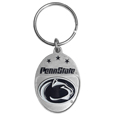 Penn St. Nittany Lions Carved Metal Key Chain