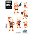 Auburn Tigers Family Decal Set Small