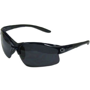 PENN St. Blade Sunglasses - Our blade sunglasses have the sports logo screen printed on both sides of the frames. Look stylish wearing our sports memorabilia glasses with arms that feature rubber colored accents and UV400 protection. Thank you for shopping with CrazedOutSports.com
