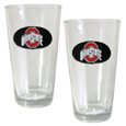 Ohio St. Buckeyes Pint Glass Set