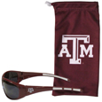Texas A & M Aggies Sunglass and Bag Set