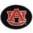Auburn Tigers Logo Belt Buckle - Our officially licensed Auburn Tigers logo buckle is fully cast metal with an expertly enameled team color finish. The buckle fits belts up to 2 inches and is the perfect fan accessory. Thank you for shopping with CrazedOutSports.com