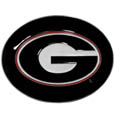 Georgia Bulldogs Logo Belt Buckle - Our officially licensed Georgia Bulldogs logo buckle is fully cast metal with an expertly enameled team color finish. The Georgia Bulldogs Logo Belt buckle fits belts up to 2 inches and is the perfect fan accessory. Thank you for shopping with CrazedOutSports.com