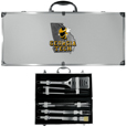 Georgia Tech Yellow Jackets 8 pc Stainless Steel BBQ Set w/Metal Case