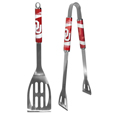 This stainless steel 2 pc BBQ set is a tailgater's best friend. The colorful and large team graphics let's everyone know you are a fan! The set in includes a spatula and tongs with the Oklahoma Sooners proudly display on each tool. - This stainless steel 2 pc BBQ set is a tailgater's best friend. The colorful and large team graphics let's everyone know you are a fan! The set in includes a spatula and tongs with the Oklahoma Sooners proudly display on each tool. Thank you for shopping with CrazedOutSports.com
