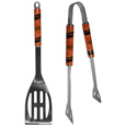 Oklahoma St. Cowboys 2 pc Steel BBQ Tool Set