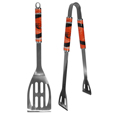 Oregon St. Beavers 2 pc Steel BBQ Tool Set - This stainless steel 2 pc BBQ set is a tailgater's best friend. The colorful and large team graphics let's everyone know you are a fan! The set in includes a spatula and tongs with the Oregon St. Beavers proudly display on each tool. Thank you for shopping with CrazedOutSports.com