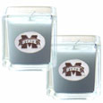 Mississippi St. Bulldogs Scented Candle Set