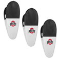 Ohio St. Buckeyes Mini Chip Clip Magnets, 3 pk