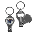 Memphis Tigers Nail Care/Bottle Opener Key Chain