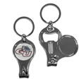 Gonzaga Bulldogs Nail Care/Bottle Opener Key Chain