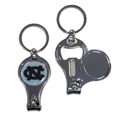 N. Carolina Tar Heels Nail Care/Bottle Opener Key Chain
