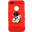 Georgia Bulldogs iPhone 4/4S Rocker Case