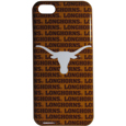 Texas Longhorns iPhone 5C Graphics Snap on Case - This officially licensed collegiate one piece iPhone 5 snap on case features the Texas Longhorns primary logo and silhouetted pattern of the team name.  Protects your iPhone 5C from bumps, scratches and other mishaps while allowing for complete access to the phone's functionality. Thank you for shopping with CrazedOutSports.com