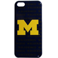 Michigan Wolverines iPhone 5C Graphics Snap on Case - This officially licensed collegiate one piece Michigan Wolverines iPhone 5C Graphics Snap on Case features the Michigan Wolverines primary logo and silhouetted pattern of the team name.  Michigan Wolverines iPhone 5C Graphics Snap on Case protects your iPhone 5C from bumps, scratches and other mishaps while allowing for complete access to the phone's functionality. Thank you for shopping with CrazedOutSports.com