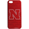 Nebraska Cornhuskers iPhone 5C Graphics Snap on Case - This officially licensed collegiate one piece iPhone 5 snap on case features the Nebraska Cornhuskers primary logo and silhouetted pattern of the team name.  Protects your iPhone 5C from bumps, scratches and other mishaps while allowing for complete access to the phone's functionality. Thank you for shopping with CrazedOutSports.com