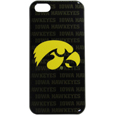 Iowa Hawkeyes iPhone 5C Graphics Snap on Case - This officially licensed collegiate Iowa Hawkeyes one piece iPhone 5 snap on case features the Iowa Hawkeyes primary logo and silhouetted pattern of the team name.  Protects your iPhone 5C from bumps, scratches and other mishaps while allowing for complete access to the phone's functionality. Thank you for shopping with CrazedOutSports.com